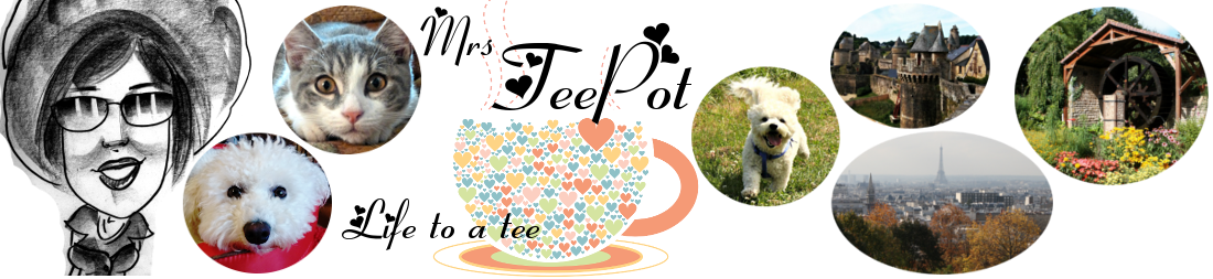 Mrs TeePot, the blog
