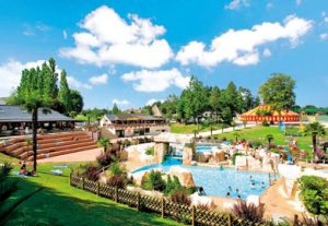 Thompson Al Fresco holiday park view with pool