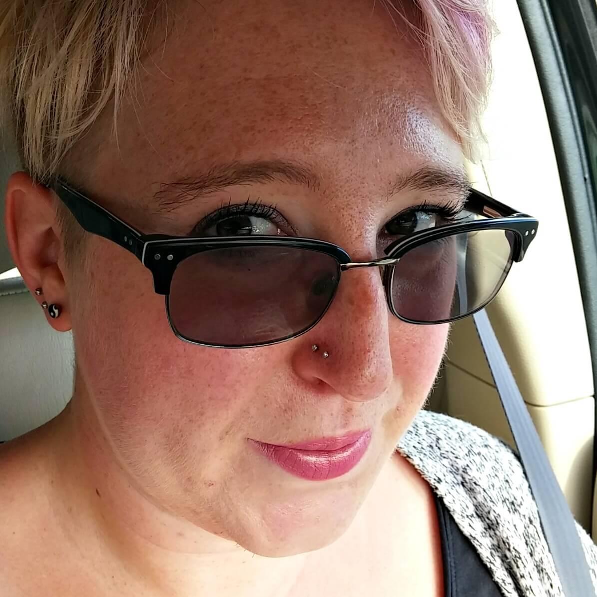 Selfie nose studs