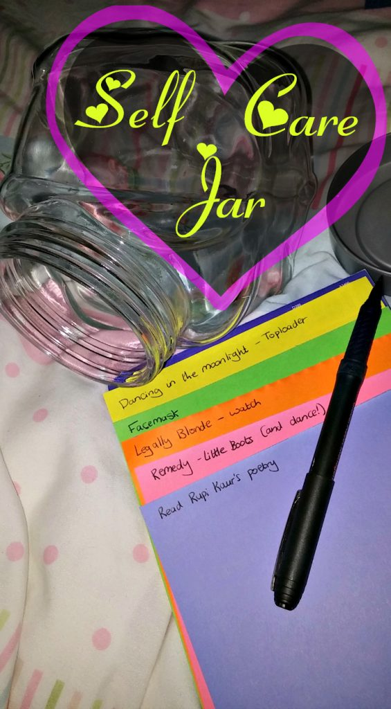 Self care jar