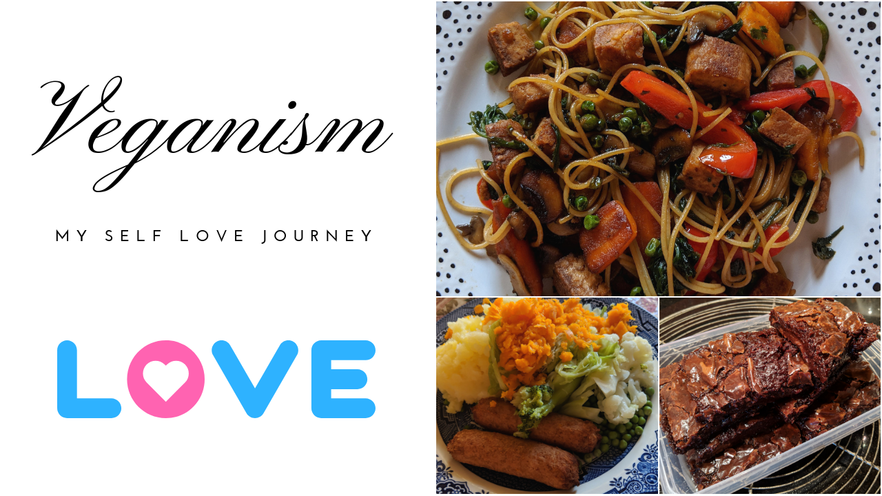 vegan self love journey